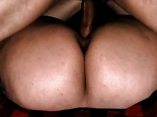 Round Ass Beautiful Asshole PAWG takes Shafting