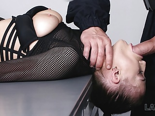LAW4k. Sex of slut Nicole Love was interrupted by..